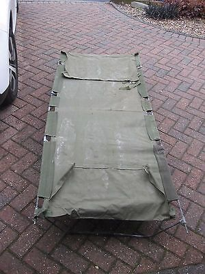 Old Style Army Type Camp Beds