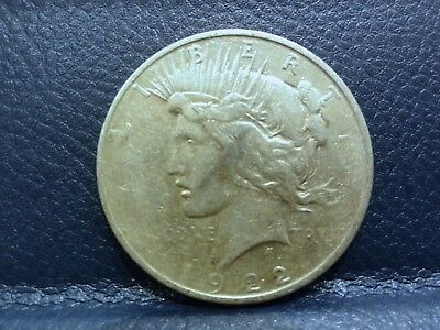 1922- Peace Dollar Coin 90% Silver