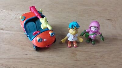 ERTLE - ENGIE BENJY vehicle and two figures