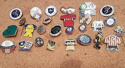 27   x  Different  Football  Pin  Badges