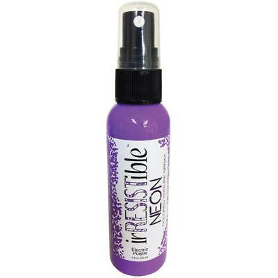 NEW IrRESISTible Neon Texture Spray 2oz Electric Purple