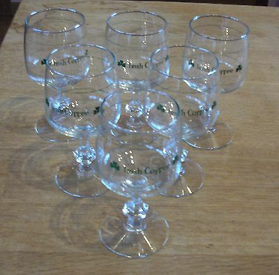Lot de 6 verres à irish coffee