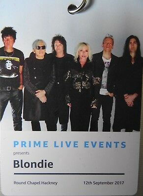 Blondie/debbie Harry Vip Neck Tag Lanyard Amazon Prime Live Event