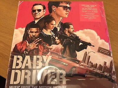 BABY DRIVER (Soundtrack) Double VINYL LP (NEW 2 LP Set) 2017 New Release 21/7/17