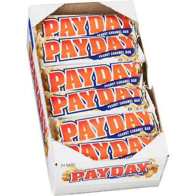 Payday Peanut Caramel Candy Bars, 1.85 oz ( 24 ct ) ~ Free Shipping