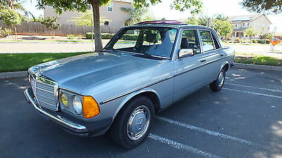 1984 Mercedes-Benz 200-Series EURO 230E LOW ORIGINAL MILES  GARAGED PRISTINE 230E  LOW ORIGINAL MILES WELL MAINTAINED GARAGED ORIGINAL PAINT