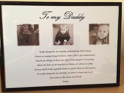 Personalised Daddy Gifts Birthday Dad Christmas Gift Any occasion