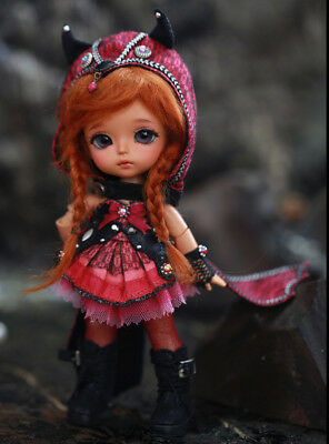 Lati Yellow Doll Outfits, Shoes, and Wig - Princess of Underworld Happy Version