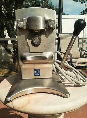 Edlund 270 FAST Shipping NSF Can Opener Restaurant Commercial Electric 2 Speed