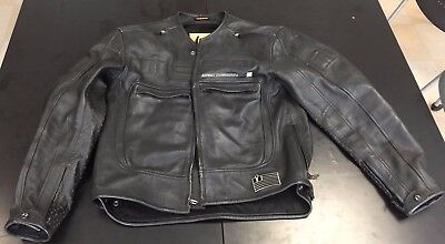 Icon Asphalt Technologies Motorhead Leather Jacket, black, size Large