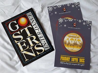 Sterns rave flyers dec 92