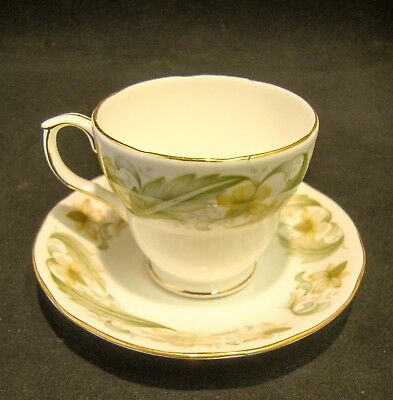 Duchess Bone China 'Greensleeves' Cup and Saucer