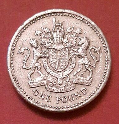 One pound coin 2008 Royal Arms £1