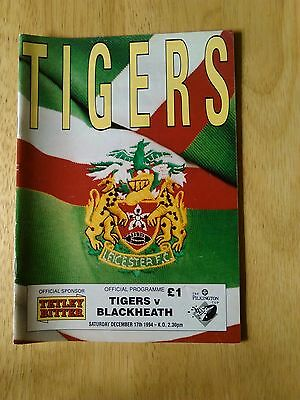 Leicester Tigers Homes 1994 - 1995