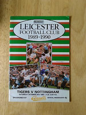 Leicester Tigers Homes 1989-1990