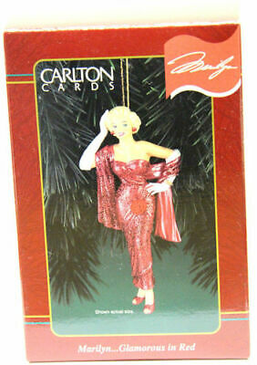 Carlton Cards - Marilyn... Glamorous in Red - Heirloom Collection