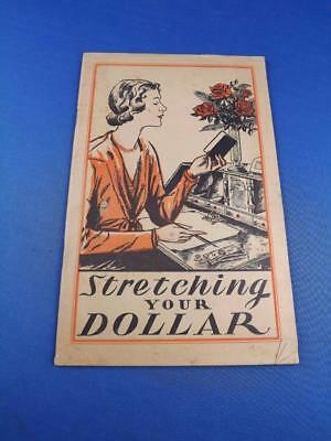 Stretching Your Dollar Booklet Lydia E Pinkhams Vegetable Compound Recipes Ads