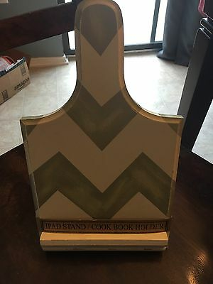 Chevron Cook Book or iPad Stand