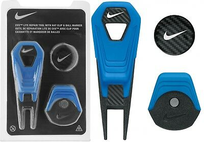 Nike Golf CVX Lite Divot Repair Tool , Hat Clip & Magnetic Ball Marker RRP£15