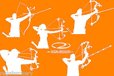 Regal Archery, Archer Stickers, Great To Show Off Your Archery Passion