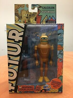 Futurama CALCULON Action Figure **NEVER OPENED** from Toynami