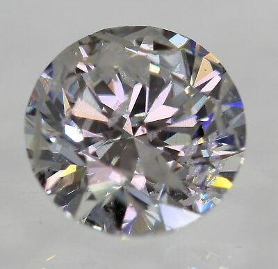 Certified 0.50 Carat F SI3 Round Brilliant Enhanced Natural Diamond 5.07mm 3EX