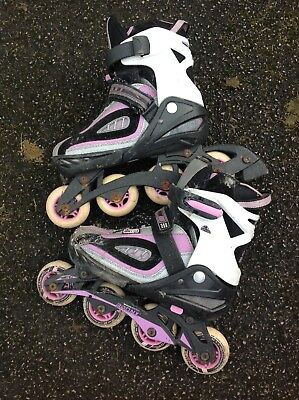 rollerblades adjustable size 3-6