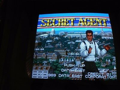 Secret Agent original Data East pcb arcade 100% working