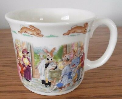 Bunnykins Royal Doulton Christening Cup/Mug - Excellent Condition Lovely Gift
