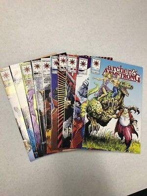 Archer & Armstrong Valiant Comics Lot Of 10
