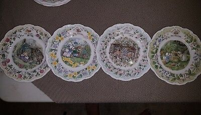 "Royal Doulton Brambley Hedge ""Surprise Outting"" Plates"