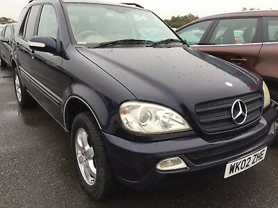 02 Mercedes Ml270 2.7 Cdi Tip Full Leather, Climate, Alloys, Cruise, Cd,6 Stamps