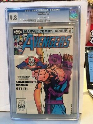 Avengers #223 (Sep 1982) CGC Graded 9.8 NM/MN Classic Cover