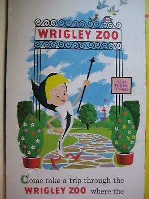 Wrigley Chewing Gum Pop-Up Zoo/Expo '67/Mickey Mouse Disneyland 1967