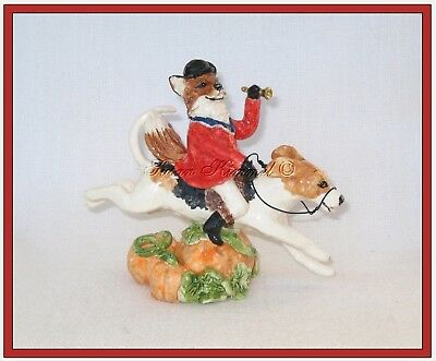 SUSAN KIMMEL ORIGINAL SCULPTURES ~ FOX Huntsman Rides to Hounds *OOAK*