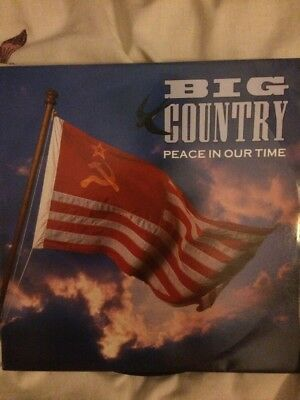"Big Country Peace In Our Time 12"" Single"