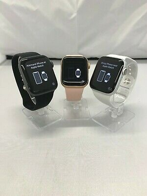 Apple Watch Series 4 (GPS) 40/44mm Aluminum Case - Select Band Color and Size