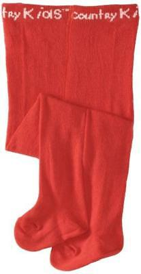 (TG. 11 anni) Coup d'envoi - Collant, Bambine e ragazze, Rosso (Red (Ruby Red)),