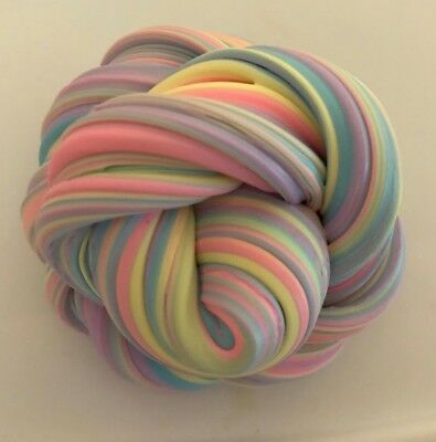 Rainbow butter Slime - Fresh Scented 5oz.