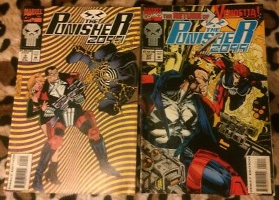 Punisher #2099 #9, #20