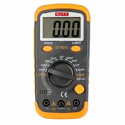 Digital Capacitance Meter/Capacitor Tester 0.1pF to 20mF, Data Hold, Back Light