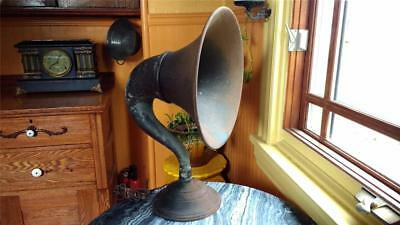 "1920's ATWATER KENT  Model M  Speaker HORN 14"" all metal  Ready to restore RARE"