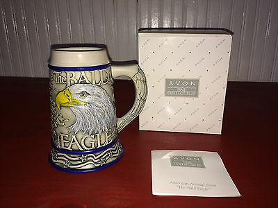 2000 Avon American Aminal The Bald Eagle Stein in Box!!