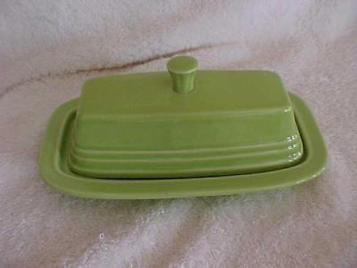Fiesta Chartreuse Covered Butter Dish -- MINT & FAB
