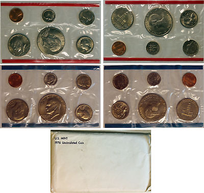 1976 US Mint Set (OGP) with  Eisenhower Dollar 12 coins ADD'L Ships Free