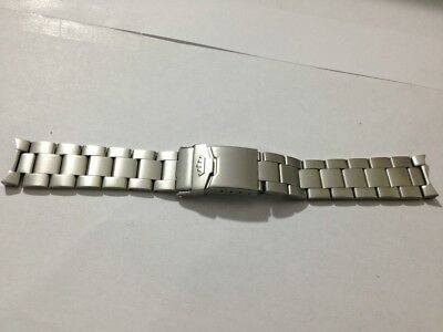 20Mm Fortis Stainless Steel Gents Watch Strap,curved Lugs