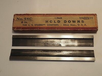 "STARRETT No. 54C.6"" HOLD DOWN SET  With Box"