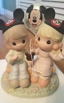 Precious Moments Happiness is Best Shared Together Porcelain Figurine  Disney
