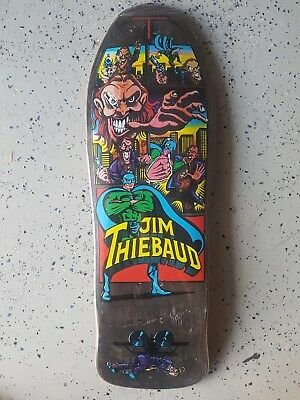 SMA NOS Jim Thiebaud 1989 Mint  OG in Shrink with Card - The Grail Board!