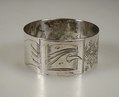 Antique Towle -Buckle- Sterling Silver Napkin Ring